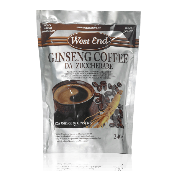 Caffe al Ginseng da zuccherare